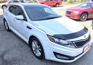 Used 2013 Kia Optima EX Turbo + EX-ALL CREDIT ACCEPTED for sale in Scarborough, ON
