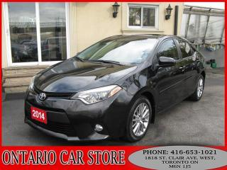 Used 2014 Toyota Corolla LE NAVIGATION LEATHER SUNROOF for sale in Toronto, ON