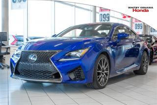 Used 2016 Lexus RC F Performance Package for sale in Whitby, ON