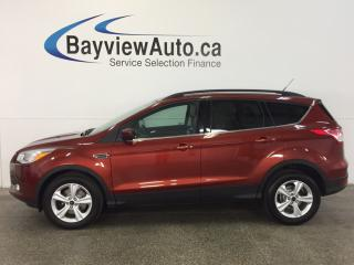 Used 2015 Ford Escape SE- 4WD|KEYPAD|ECOBOOST|HTD SEATS|REV CAM|SYNC! for sale in Belleville, ON