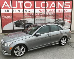 Used 2011 Mercedes-Benz C-Class C300-ALL CREDIT ACCEPTED for sale in Scarborough, ON