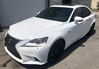 Used 2014 Lexus IS 350 F-SPORT-ALL CREDIT ACCEPTED for sale in Scarborough, ON
