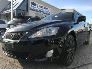 Used 2007 Lexus IS 250 PUSH TO START|LEATHER|SUNROOF|CERTIFIED for sale in Concord, ON