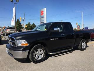 Used 2011 Dodge Ram 1500 Quad Cab 4X4 ~Chrome Side Steps ~V-8 ~Box Liner for sale in Barrie, ON