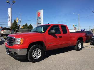 Used 2013 GMC Sierra 1500 SLE Extended Cab 4X4 ~Z71 Pkg ~P/Seat ~Box Liner for sale in Barrie, ON