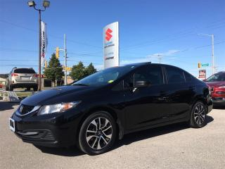 Used 2014 Honda Civic Sedan EX ~Heated Seats ~RearView Camera ~P/Sunroof for sale in Barrie, ON