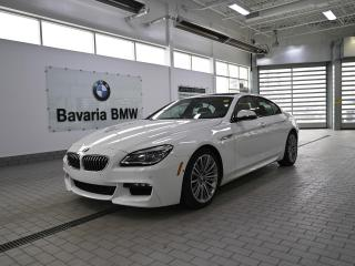 Used 2018 BMW 6 Series 640i xDrive Gran Coupe for sale in Edmonton, AB