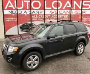 Used 2011 Ford Escape XLT Automatic XLT-ALL CREDIT ACCEPTED for sale in Scarborough, ON