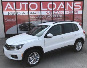 Used 2016 Volkswagen Tiguan Comfortline TSI-ALL CREDIT ACCEPTED for sale in Scarborough, ON
