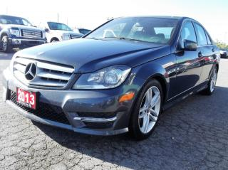 Used 2013 Mercedes-Benz C-Class 4MATIC AWD. $153.03 BI WEEKLY! $0 DOWN! CERTIFIED! for sale in Bolton, ON
