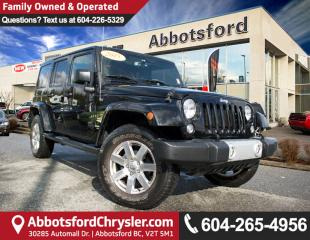 Used 2015 Jeep Wrangler Unlimited Sahara #2 VALUE RANK IN BC for sale in Abbotsford, BC