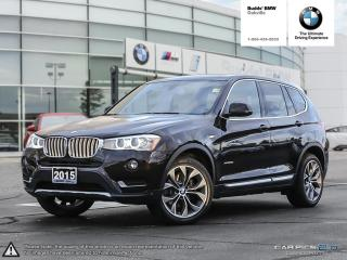Used 2015 BMW X3 xDrive28d AWD|RV CAMERA|SUNROOF|LEATHER for sale in Oakville, ON
