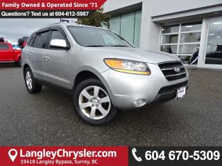Used 2009 Hyundai Santa Fe Limited *ONE OWNER* DEALER INSPECTED* for sale in Surrey, BC