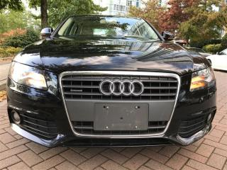 Used 2009 Audi A4 LOCAL, QUATRO, LEATHER, SUN ROOF, AWD for sale in Vancouver, BC