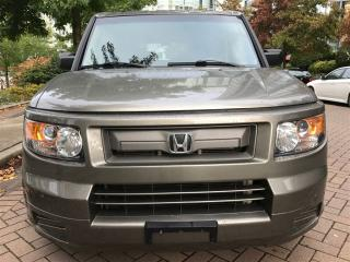 Used 2008 Honda Element 5SP, LOCAL, NEW TIRES AND BRAKES. for sale in Vancouver, BC