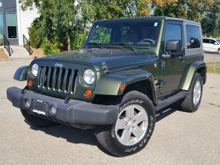 Used 2007 Jeep Wrangler SAHARA 4X4 for sale in Beamsville, ON