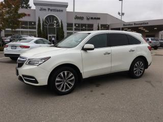 Used 2014 Acura MDX Nav Pkg AWD BLACK LEATHER INTERIOR for sale in Surrey, BC
