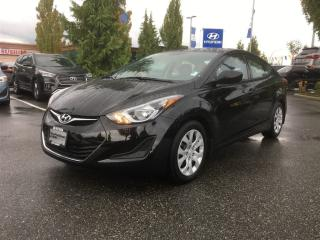 Used 2014 Hyundai Elantra GL-Local/Bluetooth/Keyless for sale in Port Coquitlam, BC