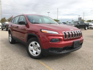Used 2015 Jeep Cherokee SPORT 4X4**HEATED SEATS**REMOTE START** for sale in Mississauga, ON