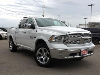 Used 2015 Dodge Ram 1500 LARAMIE 3.0L ECO DIESEL**NAVIGATION** for sale in Mississauga, ON
