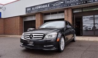 Used 2011 Mercedes-Benz C250 4MATIC AWD C-CLASS LEATHER SUNROOF LOW KMS for sale in Mississauga, ON