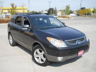 Used 2007 Hyundai Veracruz AWD, 7 Pass, Leather, Sunroof, Low k, 3/Y for sale in North York, ON
