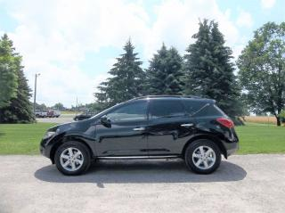 Used 2010 Nissan Murano SL- LOW KMS for sale in Thornton, ON