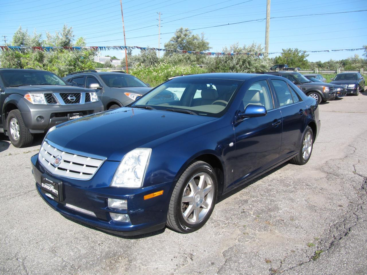 used 2006 cadillac sts 4 awd for sale in newmarket ontario. Black Bedroom Furniture Sets. Home Design Ideas