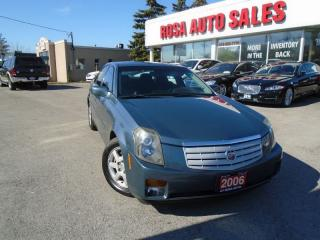 Used 2006 Cadillac CTS HEATED LEATHER SEATS SUNROOF NO ACCIDEN4 NEW TIRES for sale in Oakville, ON