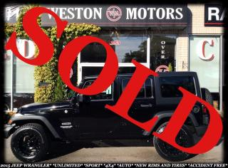 Used 2015 Jeep Wrangler 4X4*SPORT*UNLIMITED*ACCIDENT FREE* for sale in York, ON