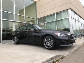 Used 2015 Infiniti Q50 SPORT TECH/LANE DEPARTURE/BLIND SPOT/AROUND VIEW MONITOR for sale in Edmonton, AB