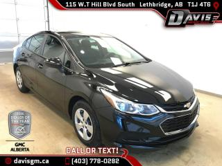Used 2016 Chevrolet Cruze LS-Rear Vision Camera, Bluetooth for sale in Lethbridge, AB