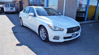 Used 2014 Infiniti Q50 Premium/AWD/NAVI/BACKUP CAMERA/IMMACULATE $24900 for sale in Brampton, ON
