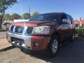 Used 2004 Nissan Pathfinder Armada LE, Clean carproof, next week inventory for sale in North York, ON