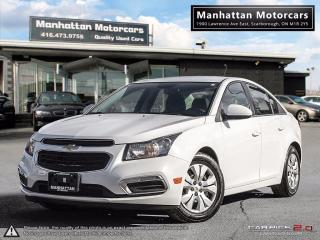 Used 2016 Chevrolet Cruze LT AUTO |BLUETOOTH|CAMERA|WARRANTY|40000KM for sale in Scarborough, ON