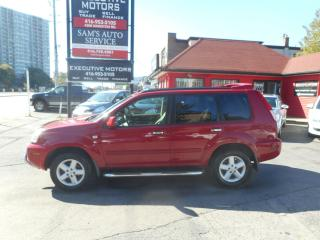 Used 2006 Nissan X-Trail SE 4X4 DEALER MAINTAINED for sale in Scarborough, ON