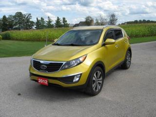 Used 2012 Kia Sportage EX for sale in Burgessville, ON