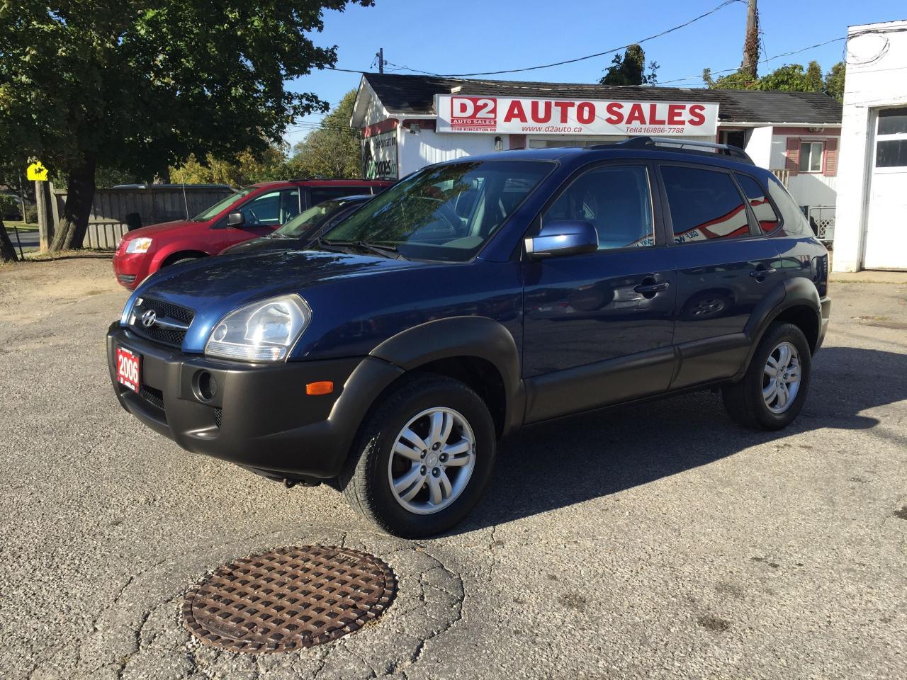 2006 Hyundai Tucson GL/Automatic/Clean Carproof/Certified