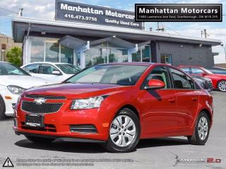 Used 2014 Chevrolet Cruze LT AUTO |BLUETOOTH|WARRANTY|50000KM for sale in Scarborough, ON