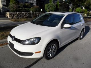 Used 2010 Volkswagen Golf 2.5L, MANUAL, ROOF, HIGHLINE, NEW BRAKES for sale in Etobicoke, ON