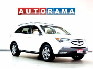 Used 2009 Acura MDX TECH PKG NAVIGATION BACKUP CAM AWD LEATHER SUNROOF for sale in North York, ON