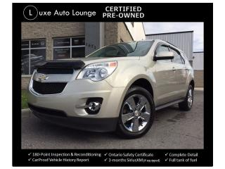 Used 2014 Chevrolet Equinox LT - NAV, SUNROOF, BSM, HEATED SEATS, LOADED!! for sale in Orleans, ON