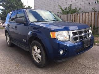 Used 2008 Ford Escape XLT, Only 120 km for sale in Scarborough, ON