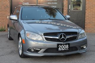 Used 2008 Mercedes-Benz C-Class C350 4MATIC *NAVI, PANO ROOF, AMG PKG* for sale in Scarborough, ON