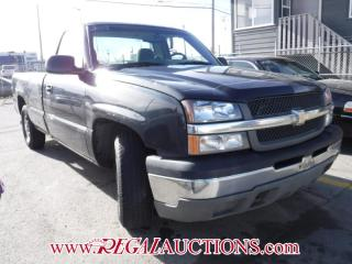 Used 2003 Chevrolet SILVERADO 1500 BASE REG CAB for sale in Calgary, AB