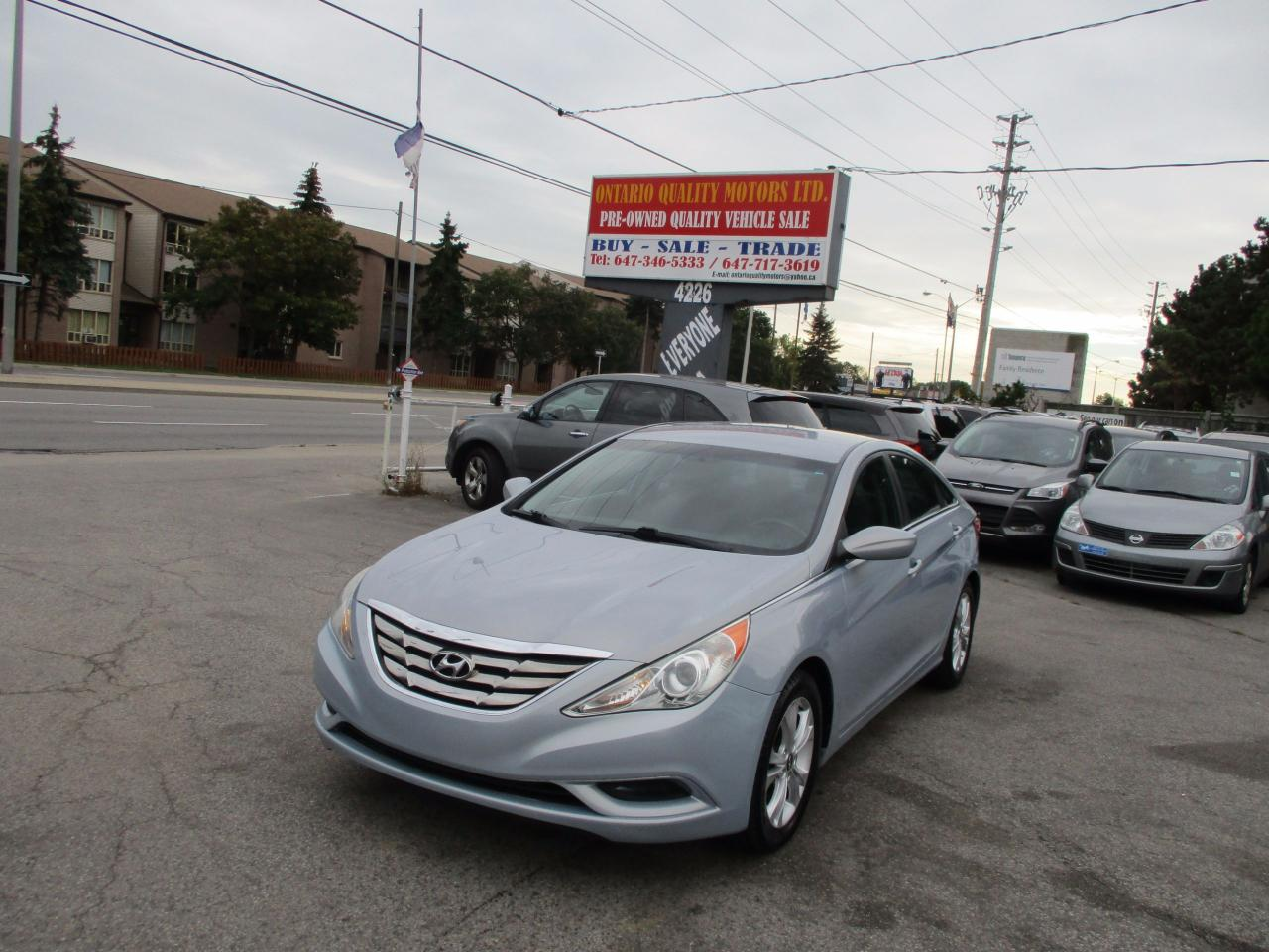 used 2011 hyundai sonata gls for sale in scarborough. Black Bedroom Furniture Sets. Home Design Ideas