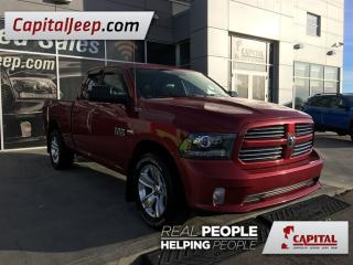 Used 2013 Dodge Ram 1500 Sport| Keyless Entry| AUX| Cloth/Leather| 4X4 for sale in Edmonton, AB