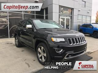 Used 2015 Jeep Grand Cherokee Overland| Leather| LOW KM| Sunroof| 4X4 for sale in Edmonton, AB