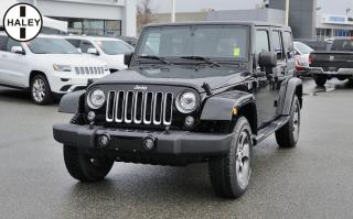 Used 2017 Jeep Wrangler Unlimited Sahara for sale in Surrey, BC