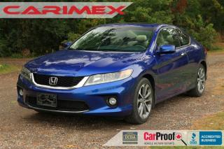 Used 2013 Honda Accord EX-L-NAVI V6 NAVI | Sunroof | CERTIFIED for sale in Waterloo, ON